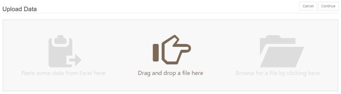 Paste, drag and drop, or browse to upload a file